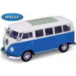1:24 Modellauto Welly VW Bus T1 1962