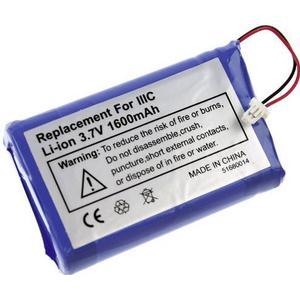 114511 XCell PDA-Akku ersetzt Original-Akku 170-0737, B520003 3.7V 1600 mAh