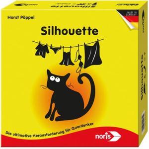 Dickie Noris Spiele 606121475 - Silhouette, Legespiel