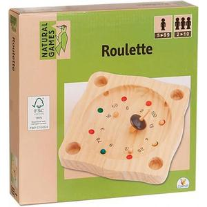 0061058800 Natural Games Roulette 22cm