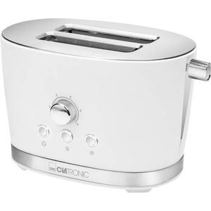 263844 Clatronic Toaster mit Brötchenaufsatz TA3690 Weiß