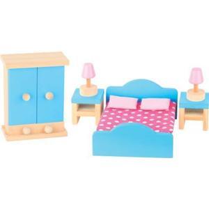 0028089FSC BEE Puppenhausmöbel Schlafzimmer