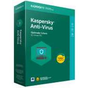 Kaspersky Anti Virus 2018, 1 User, 1 Jahr, Update, PKC