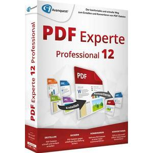 1027227 Avanquest PDF Experte 12 Professional Vollversion, 1 Lizenz Windows PDF-Software