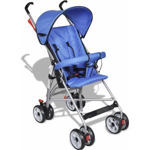 10056 vidaXL Kinderwagen Buggy Sportwagen Babywagen Babyjogger Reisebuggy Blau