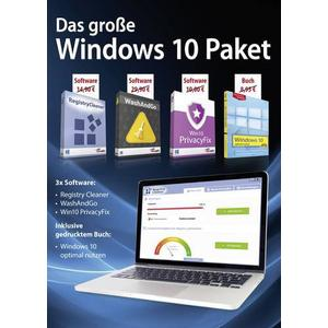 1681561 Das große Windows 10 Paket Vollversion, 1 Lizenz Windows Software-Sammlung