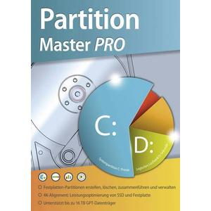 1681559 Partition Master PRO Vollversion, 1 Lizenz Windows Systemoptimierung