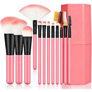 12pcs Makeup Brushes with Canister