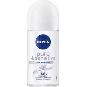 Nivea Körperpflege Deodorant Sensitive & Pure Anti-Transpirant Roll-On 50 ml
