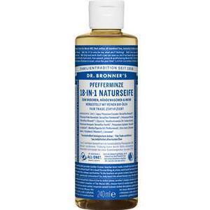 Dr. Bronner's Pflege Körperpflege Pfefferminze 18-in-1 Naturseife 240 ml