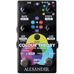 Alexander Pedals Colour Theory Step Sequencer