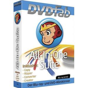 1027571 BHV Verlag DVDFab All-in-One Suite Vollversion, 1 Lizenz Windows Brenn-Software