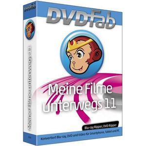 1027572 BHV Verlag DVDFab Meine Filme unterwegs Vollversion, 1 Lizenz Windows Backup-Software