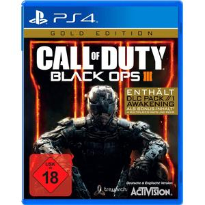 ACTIVISION Call of Duty: Black Ops III GOLD PlayStation 4 (Blu-ray Disc)
