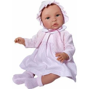 Asi dolls - Leonora Puppe in weißem Kleid, 46 cm