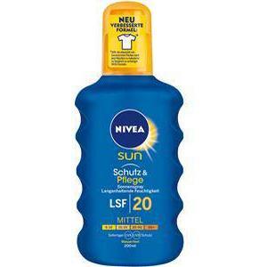 Nivea Sonnenpflege Sonnenschutz Sun Schutz & Pflege Sonnenspray LSF 20 200 ml