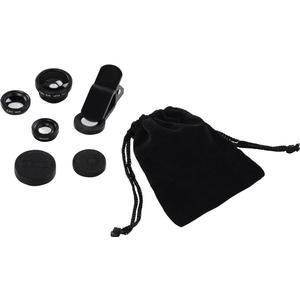 00044338 3in1-Objektiv-Set ´´Uni´´ für Smartphones und Tablets