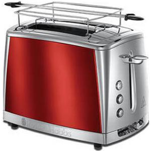 23220-56 Luna Solar Red Toaster 1550W Brötchenaufsatz (Rot) (Versandkostenfrei)