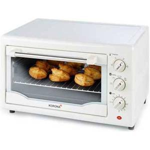 57166 Toastofen 1300W 23l 100-230°C 3 Einschubebenen 60-Minuten-Timer (Weiß) (Versandkostenfrei)