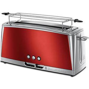 23250-56 Luna Solar Red Langschlitz-Toaster 2400W (Rot)
