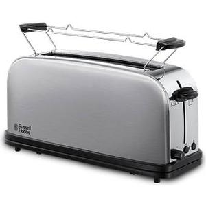 21396-56 Oxford Langschlitz-Toaster 1000W (Schwarz, Edelstahl)