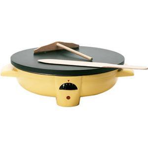 44210 Crepes-Maker 1100W 31cm Durchmesser (Gelb) (Versandkostenfrei)