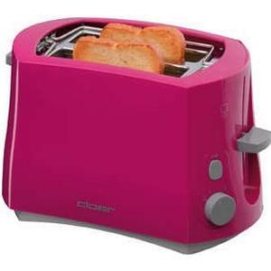 3317-1 Toaster 825W integrierter Brötchenaufsatz Stopptaste (Pink)