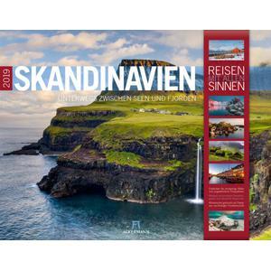Ackermann Skandinavien Kalender 2019 - Reisen mit allen Sinnen - 42 x 54 - Ackermann