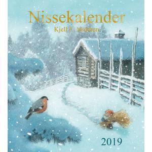 Aune Forlag Nisse Kalender 2020 - 30 x 34 cm