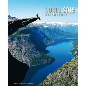 Aune Forlag Norge Kalenderen 2020 Sør vest - 33 x 41 cm - Aune-Verlag