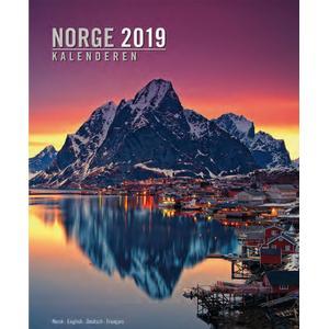 Aune Forlag Norge Kalenderen 2020 Nord - 33 x 41 cm - Aune-Verlag