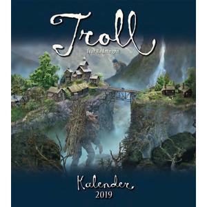 Aune Forlag Troll-Kalender Rødningen 2020 - 34 x 30 cm - Aune Forlag