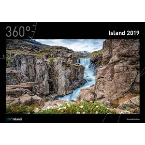 360Grad Medien Mettmann Island Kalender 2020 - 35 x 50 cm - 360Grad Medien Mettmann