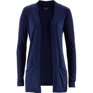 bpc bonprix collection Stretch-Shirtjacke langarm in blau für Damen von bonprix