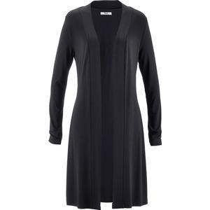 bpc bonprix collection Shirtjacke, lang langarm in schwarz für Damen von bonprix