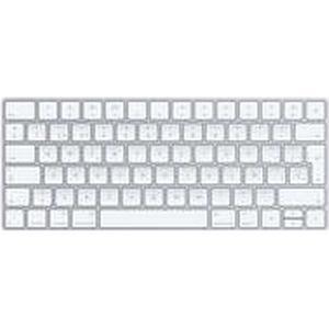 Apple Magic Bluetooth QWERTY Spanisch Weiß - Tastaturen (Mini, Kabellos, Bluetooth, QWERTY, Weiß)