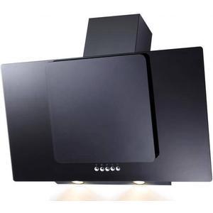 PKM 9041-80 XBG Wandhaube Dunstabzugshaube inkl Randabsaugung und Beleuchtung 80 cm Schwarz