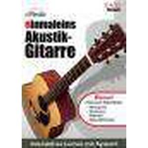 eMedia einmaleins Akustik Gitarren