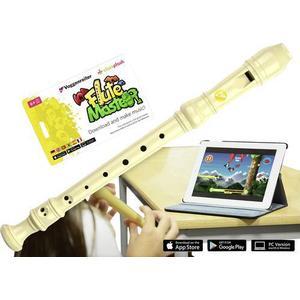 1141 Voggenreiter Blockflöte Flute Master Kunsttoff Deutsch