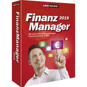 1027900 Lexware FinanzManager 2019 Vollversion, 1 Lizenz Windows Finanz-Software