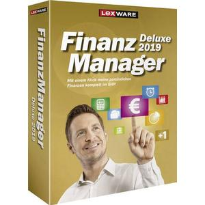 1027906 Lexware FinanzManager Deluxe 2019 Vollversion, 1 Lizenz Windows Finanz-Software
