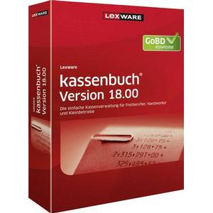 1027899 Lexware Kassenbuch Version 18.00 Vollversion, 1 Lizenz Windows Kaufmännische Software