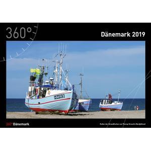 360Grad Medien Mettmann Dänemark Kalender 2019 - 35 x 50 cm - 360Grad Medien Mettmann