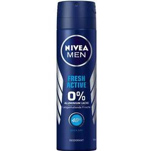 Nivea Männerpflege Deodorant Nivea Men Fresh Active Deodorant Spray 150 ml