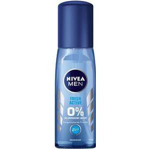 Nivea Männerpflege Deodorant Nivea Men Fresh Active Deodorant Zerstäuber 75 ml