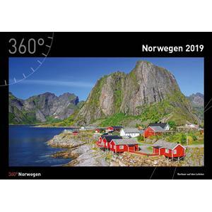 360Grad Medien Mettmann Norwegen Kalender 2019 - 35 x 50 cm - 360Grad Medien Mettmann