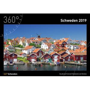 360Grad Medien Mettmann Schweden Kalender 2019 - 35 x 50 cm - 360Grad Medien Mettmann