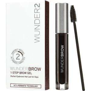 Wunder2 Wunderbrow 1-Step Brow Gel Jet Black