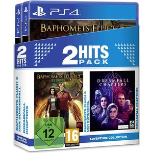2 Hits Pack - Baphomets Fluch 5-Der Sündenfall + Dreamfall Chapters