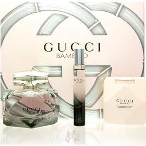Gucci Bamboo Luxus Set Eau de Parfum 75 ml + 7,4 ml + BL 100 ml